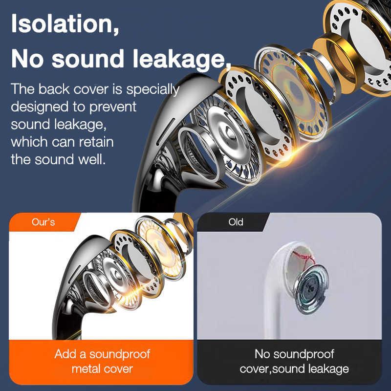 EARDECO-auriculares con cable para móvil, de cuatro núcleos, Auriculares deportivos de 3,5 con bajos para teléfono, auriculares estéreo con micrófono para música