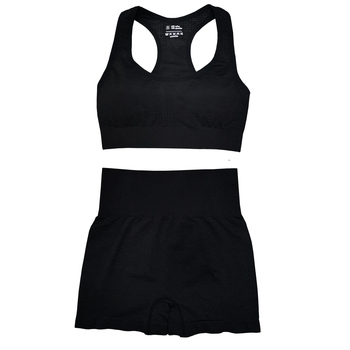 Seamless Women Vital Yoga Set Workout Shirts Sport Pants Bra Gym Clothing Short Crop Top High Waist Running Leggings Sports Set 19