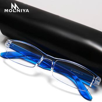 Comfy Ultralight Halter okulary do czytania Stretch kobiety i mężczyźni anti-zmęczenie HD Presbyopia + 1 0 + 1 5 + 2 0 + 2 5 + 3 0 + 3 5 + 4 0 tanie i dobre opinie MOLNIYA WHITE WOMEN Unisex Lustro 2 4cm Z tworzywa sztucznego P220 1 2cm