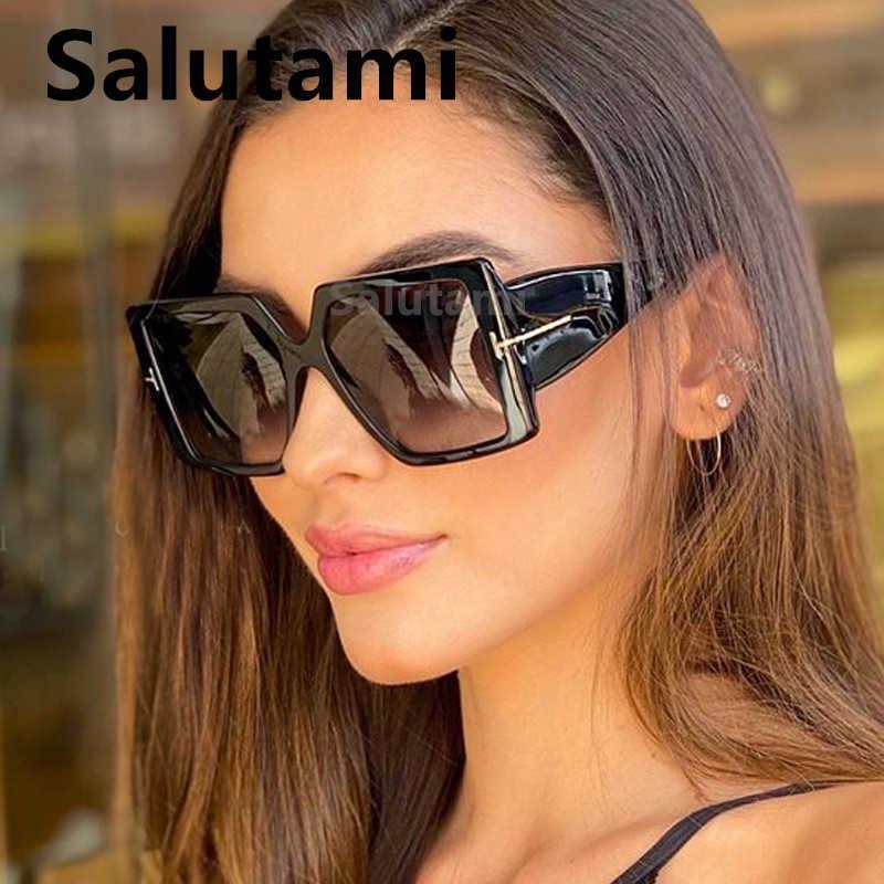 BIG Alla Moda Stile Donna Tonalità Occhiali Da Sole Firmati
