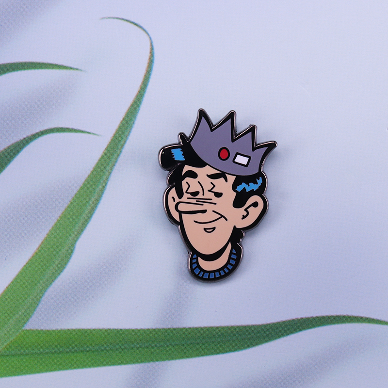 Riverdale Jughead Jones Enamel Pin Bob Montana And John L Goldwater Archie Comics Character Brooch Brooches Aliexpress Collection set of various shape crown logos in a cartoon style design on white background. riverdale jughead jones enamel pin bob montana and john l goldwater archie comics character brooch