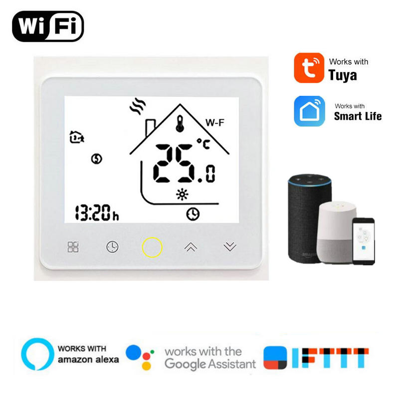 WiFi Smart Temperature Controller Thermostat For Water/Underfloor Heating Electric Cauldrons For Alexa Google Home Smart Home