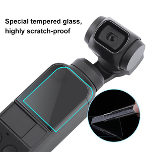 Image 2 - PULUZ For DJI Osmo Pocket Screen Protector Accessories Lens Protective Film Gimbal Cover Accesorios Filter for DJI Osmo Pocket