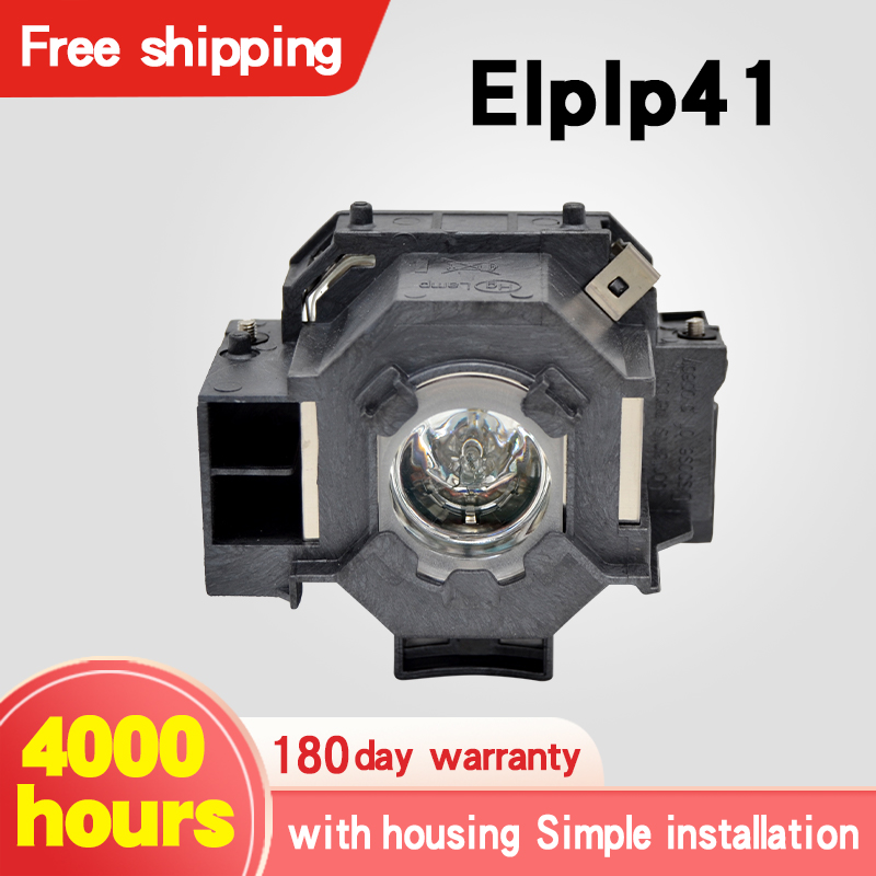 UHE170 Projector Bulb With Housing ELPLP41 V13H010L41 For EMP-260 EMP-77 EMP-77C EMP-S6+ EMP-S6 EMP-S5+ EMP-S52 EMP-S5