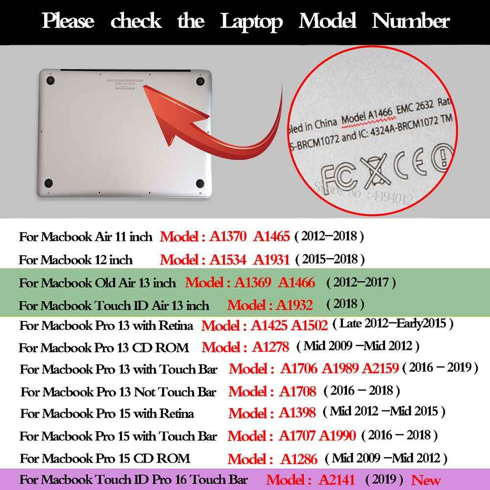كم حقيبة كمبيوتر محمول جراب للماك بوك الهواء برو الشبكية 11 12 16 13.3 15 ل شاومي غطاء للكمبيوتر الدفتري ل ماك كتاب اللمس ID Air 13 A1932