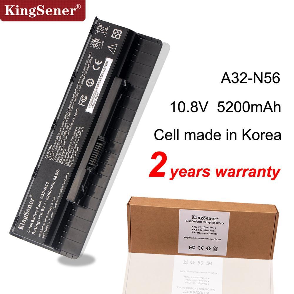 Kingsener A32-N56 Laptop Battery For ASUS N46 N46V N46VJ N46VM N46VZ N56 N56V N56VJ N56VM N76 N76VZ A31-N56 A33-N56