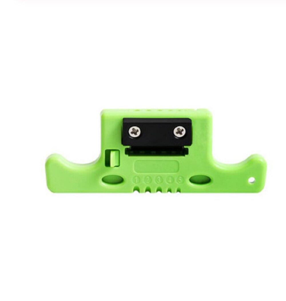 MSAT-5 Faser Kabel Band Stripper MSAT5 Lose Rohr Puffer Mid-Spanne Zugang Werkzeug 1,9mm zu 3,0mm Austauschbare klinge