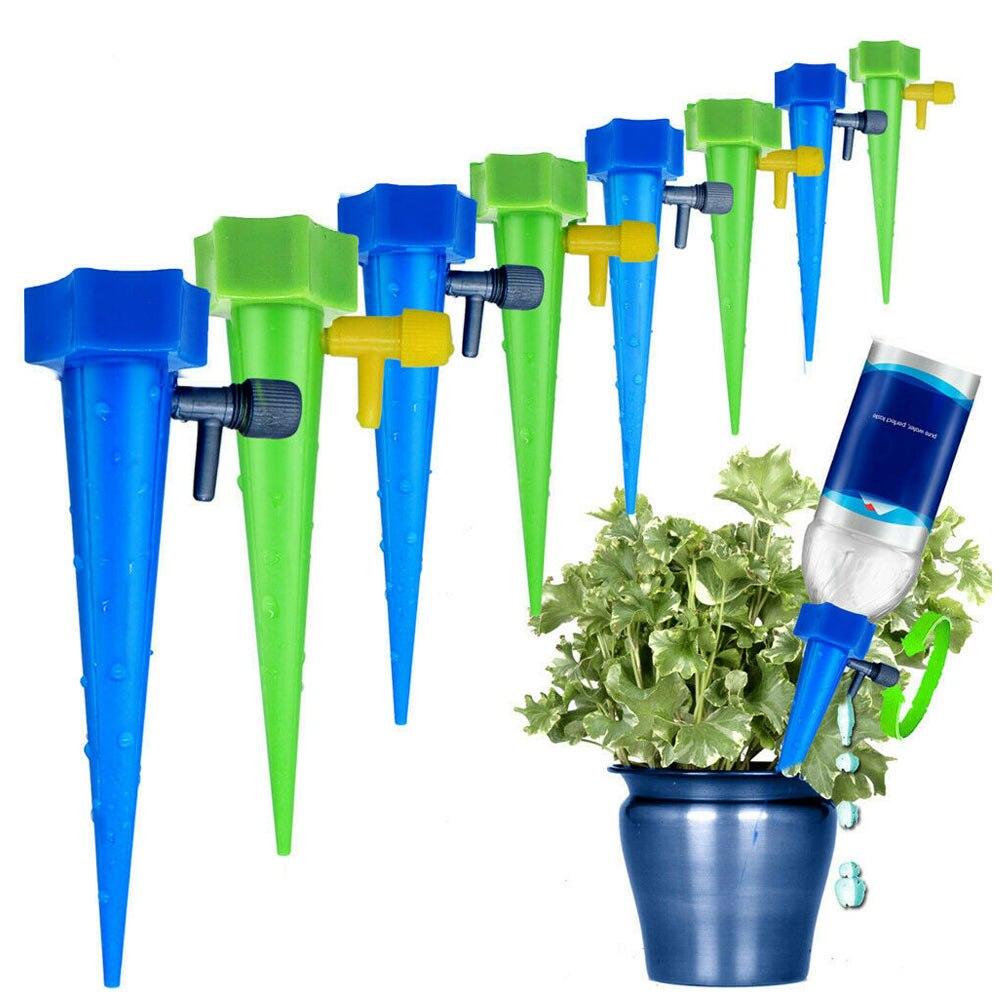 12Pcs Anlage Wasser Trichter Blumen Drip Spikes Automatisch Bewässerung Werkzeuge HKS99