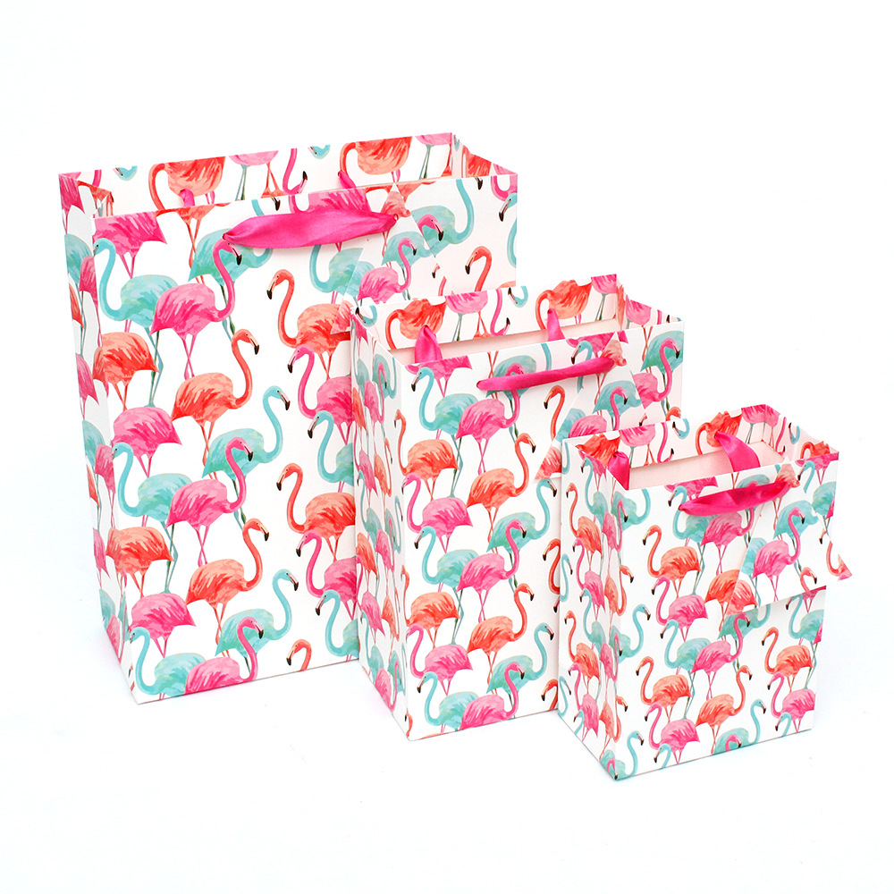 1pc/sell Cartoon Gift Bag Wrapping Packaging Paper 25x18x10cm Size File Pocket School Suppliers Gift Stationery