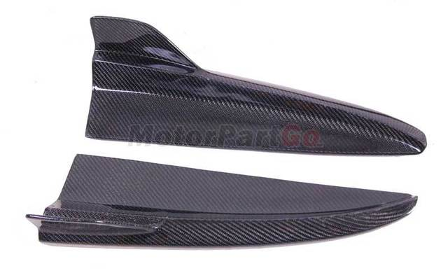 Ins2021 For W205 Benz C-class Two and Four Door C63amg  Carbon Fiber Wrap Angle Air Knife Rear Spoiler  M181 2