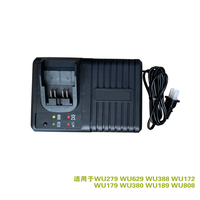 Carregador dawupine para worx 20V WA3924 pé grande placa de carga rápida carregador 20V carga do flash WA3922