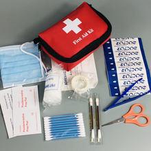 Venda quente 12 itens/27 pçs kit de emergência sobrevivência kit de primeiros socorros pacote viagem e família saco médico carro mini kit de primeiros socorros saco