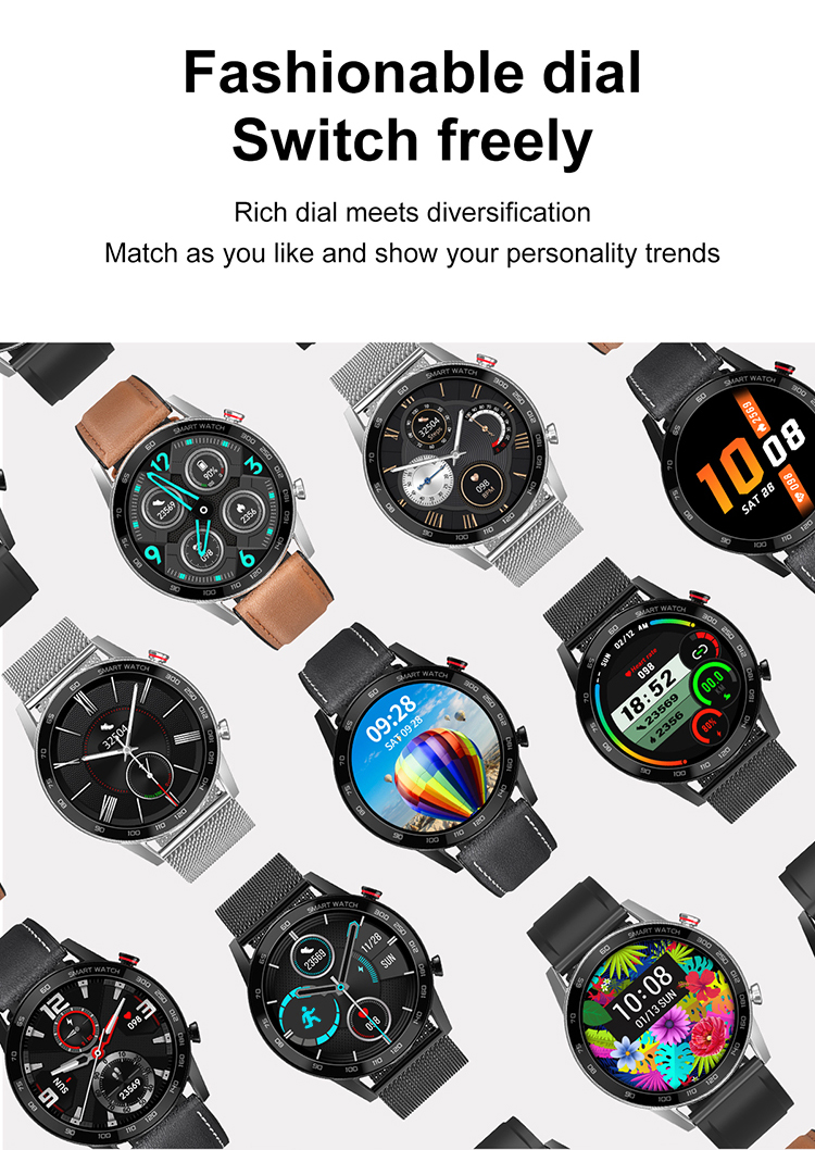 Compatible system: IOS / Android FunctionsIP68 waterproof, Large memory 10 dials selection, Dial pad (Bluetooth…