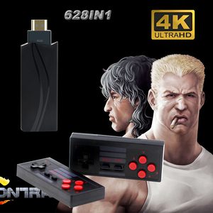 2020 NEW 4K HDMI Video Game Console Built in 600 Classic Games Mini Retro Console Wireless Controller HDMI Output Dual Players