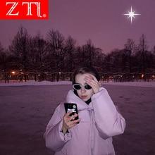 ZT Brand Ladies Sun Glasses Women Cat Eye Sunglasses Popular Ladies Clear Red Oval Lens Shades Skinny Eyewear стоимость