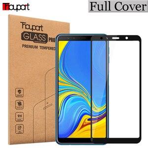 Image 2 - 5D Gehärtetem Glas Für Samsung Galaxy A7 J4 J6 + J8 A6 A8 2018 Glas Screen Protector Volle Glas Für samsung A6 A8 J4 J6 Plus 2018
