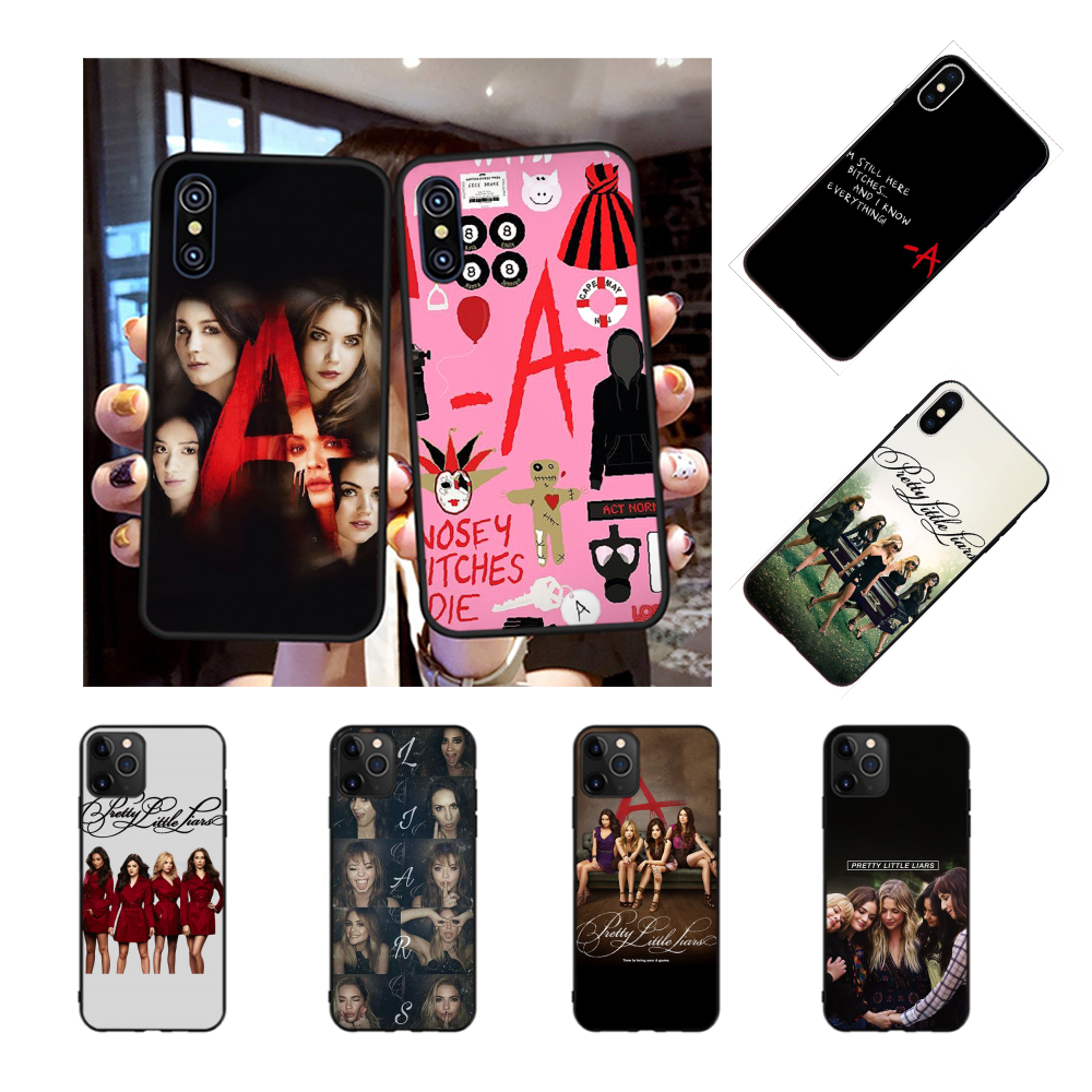 NBDRUICAI Pretty Little Liars PLL TV Show Coque Shell Phone Case for iPhone 11 pro XS