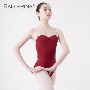 Image 3 - Adult tights dancewear ballet leotard women  open back dance leotardsgymnastics ballet costume Ballerina 5675