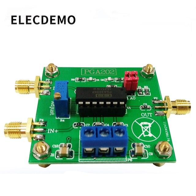 Módulo de adquisición de datos módulo PGA202 amplificador de instrumentos digitales ganancia programable digital circuito de ajuste automático