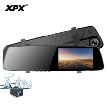 Dash cam ZX847 Car dvr Mirror Dvr Rear view camera DVR mirror Camera car Full HD 1080P G-srnsor Rearview