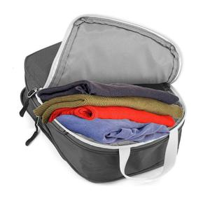 Image 3 - Rantion 3pcs/set Compression Packing Cubes Travel Storage Bag Luggage Suitcase Organizer Set Foldable Waterproof Nylon Material