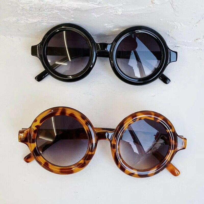 6 colores niño chico gafas de sol chico chica leopardo sólido moda gafas de sol chico gafas de playa gafas de sol