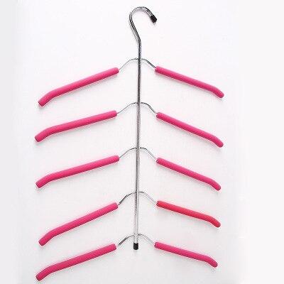 Вешалка для одежды, органайзер для одежды, 1 шт., многослойная вешалка для одежды, вешалка для одежды, Perchas Para La Ropa, крючок, вешалки - Цвет: 13 40X56.5cm