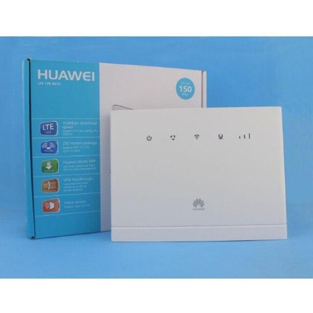 Купить разблокированный huawei b315s 519 4g cep hotspot wi fi маршрутизатор картинки