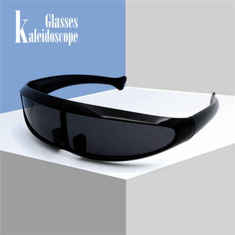 X-мужские солнцезащитные очки в форме рыбы, мужские очки с лазером, крутые солнцезащитные очки с роботом, очки для вождения