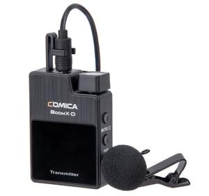 Image 5 - Comica boomx d d2 microfone kit transmissor sem fio mini celular microfon receptor digital 2.4g condensador microfone estéreo vs microfone