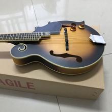 Твердая древесина ручной работы мандолина электрогитара 8 струн гитара Высокое качество мандолин 8 струн