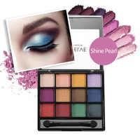 BearPaw 12 Colors Glitter Pink Eyeshadow Palette Paletas De Sombras Nuevas 2019 Waterproof Eyeshadow Pallete Women Girl Gift