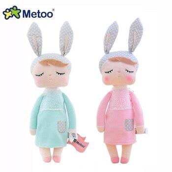Metoo Angela Doll soft Bunny Toy Stuffed Animals Plush Rabbit Toys Fruit dolls For Baby Kids Girls boys Christmas birthday gifts 1
