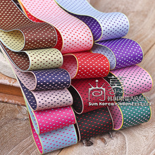 100yards 7 10 16 25 38mm double face color stitched satin ribbon for garment accessories bouquet flower packing bow