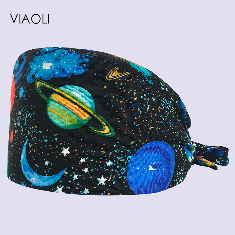 Viaoli Dentist Cap/hats Medical Surgical Scrub Caps Surgical Surgeon's Surgery Hat Pet Doctor Cap/hats