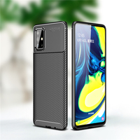 case samsung galaxy For Samsung Galaxy A71 Case Business Style Silicone Shell Back Phone Cover For Galaxy A71 Protective Case For Samsung A71 A715F (2)