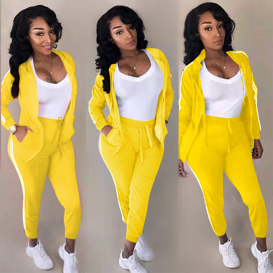 HAOYUAN Plus Size Two Piece Set Tracksuit Women Fall Winter Clothes Long Sleeve Top Pant Sweat Suit 2 Piece Outfits Matching Set