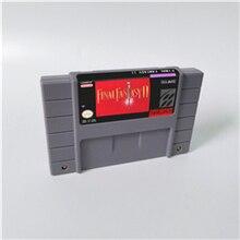 Ostateczna gra Fantasy Mystic Quest lub II III IV V VI 1 2 3 4 5 6 karta do gry RPG wersja amerykańska język angielski oszczędzanie baterii