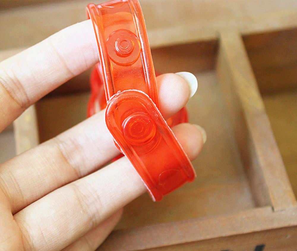 Подарок для детей Рождественский светильник Санта Клаус флэш-игрушки наручные руки взять светящиеся браслеты Танцевальная вечеринка ужин игрушки подарки Новинка