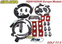 استخدام لشركة فولكس فاجن جولف 7 MK7 السابع الأمامي والخلفي 8K أوبس وقوف السيارات الطيار 5Q0 919 294 K ترقية عدة 5Q0919294K