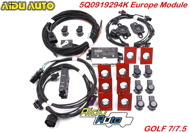 Gebruik Voor Vw Golf 7 MK7 Vii Voor En Achter 8K Ops Parking Pilot 5Q0 919 294 K Upgrade kit 5Q0919294K
