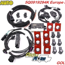 OPS Pilot K-Upgrade-Kit Parking Golf 5Q0919294K Front Rear And VW 7-Mk7 VII 8K Use-For