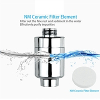 Water Purifier Bath Shower Filter Bathroom Kitchen Head In-Line Faucet Clean Water Tap Softener Chlorine Filters