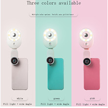 Fill-Light Mobile-Phone-Camera Selfie Night-Darkness Portable Live Clip for Enhancing