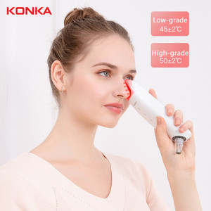 KONKA USB electric Blackhead Remover Face Deep Nose Cleaner T Zone Pore Acne Facial Diamond Beauty Clean Skin Tool(China)