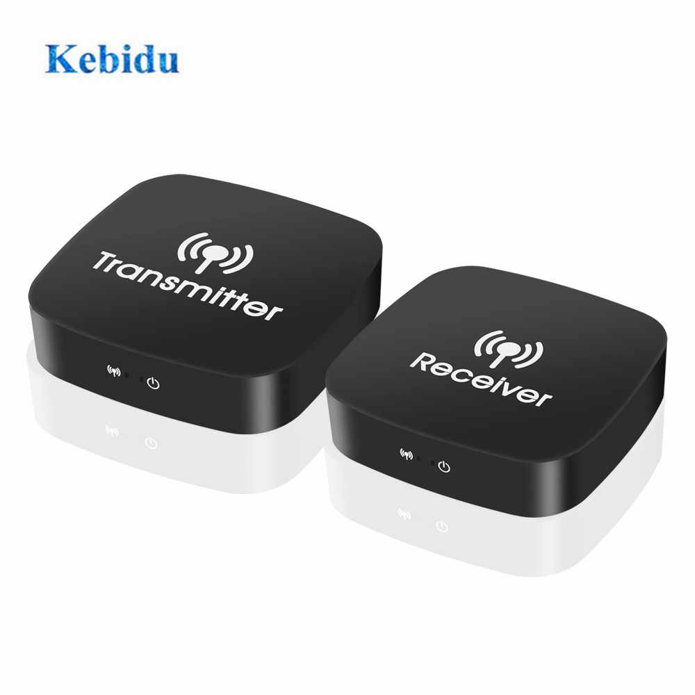 Kebidu extensor de vídeo sem fio hdmi, 5ghz, transmissor e receptor de vídeo 10m para blu-ray player, dvd player, pc, laptop e casa hdtv