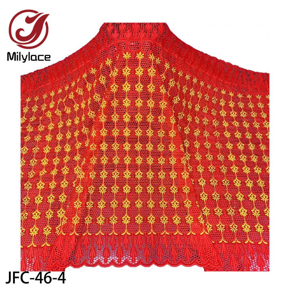 Новинка 2020, хлопковая кружевная фабрика Milylace высокого качества, швейцарская вуаль, кружева в Швейцарии, африканская кружевная ткань для платья