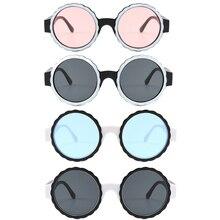 Round Sunglasses Women Eyewear Female очки солнцезащитные женские lunette soleil femme zonnebril dames D50
