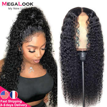 Curly Human Hair Wig Lace Front Human Hair Wigs For Black Women 30 Inch Lace closure Wig Remy 180 Peruvian Curly Wig Closure Wig - DISCOUNT ITEM  43 OFF Hair Extensions & Wigs