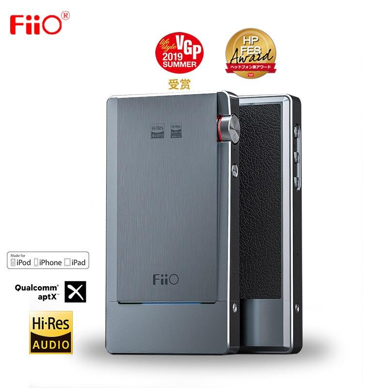FiiO Q5s Bluetooth 5.0 Dual AK4493EQ DSD256 PCM 768k/32bit DAC&Amplifier USB DAC Amplifier For IPhone/computer/Android/Sony